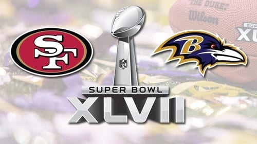 baltimore raven vs. SF 49ers