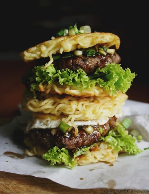 Ramenburger, Ramenburger recipe
