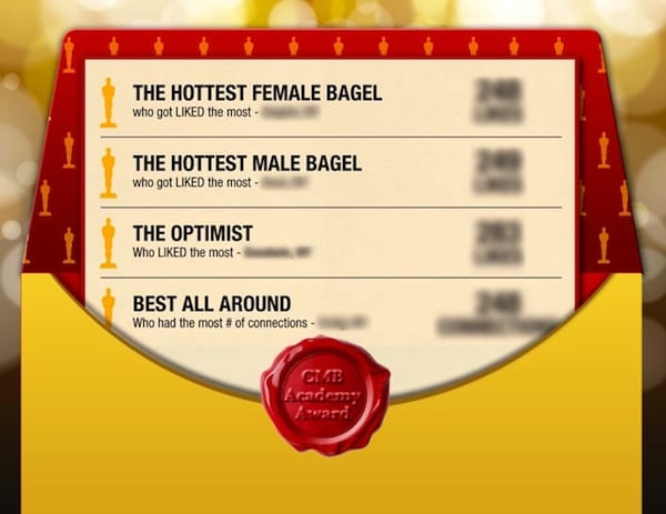 Academy Award Coffee Meets Bagel version