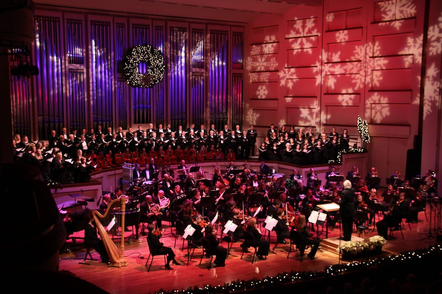 Christmas Symphony, Hendel's Messiah, Christmas Music, Christmas Date Ideas