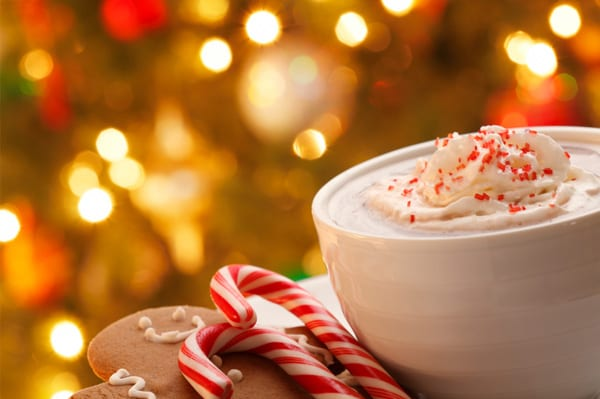 peppermint hot chocolate, christmas movies, best holiday date ideas