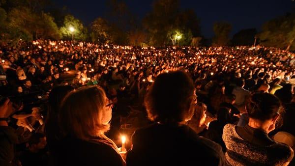 UCSB vigil