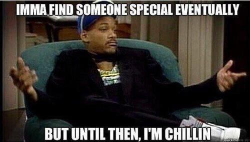 will smith single and chillin