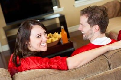 couple-date-night-watching-football