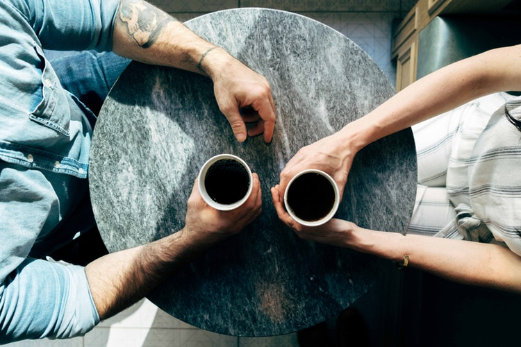 meeting for coffee